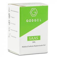 Godgel SAAS Medical Sodium Hyaluronate Gel (1x5ml) (1x5ml)